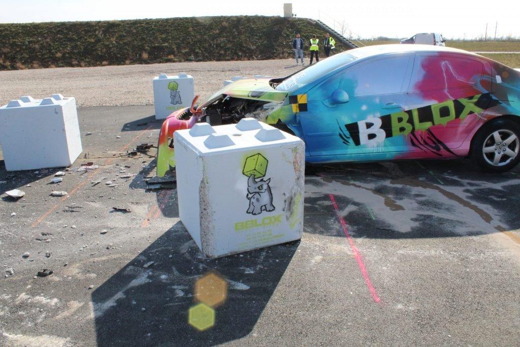Transpolis crash tests