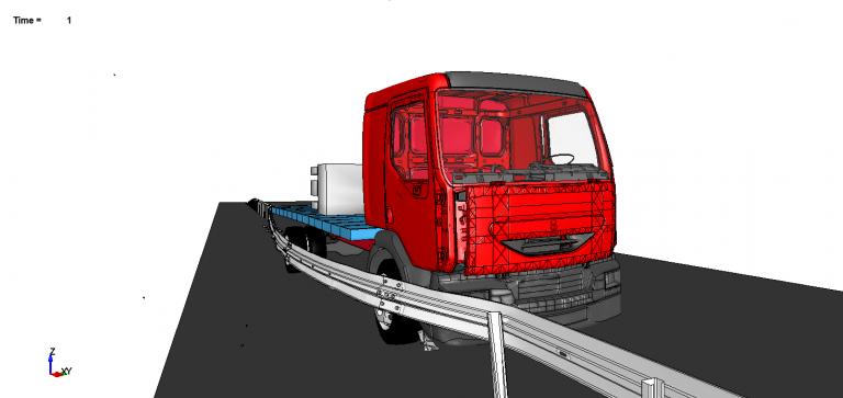 Crash simulation